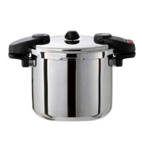 ワンダーシェフ 圧力鍋 ミドルサイズ(8L)